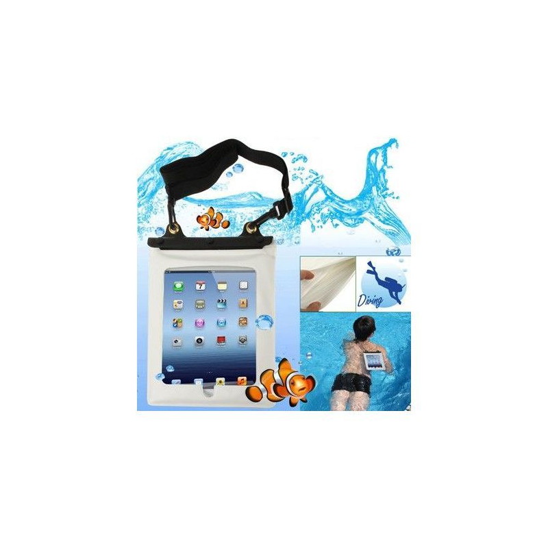 Housse tanche universelle ipad galaxy tab waterproof 10 for Housse photo etanche