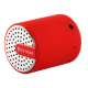 Mini enceinte bluetooth universelle smartphone tablette Rouge - www.yonis-shop.com