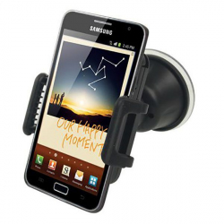 Holder smartphone GPS support voiture universel rotatif noir - www.yonis-shop.com