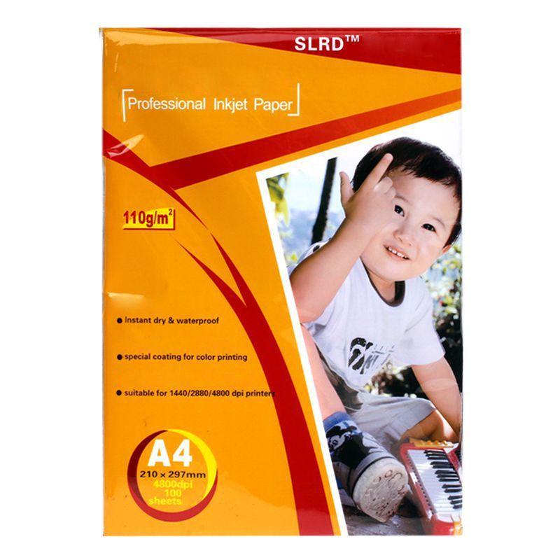 Papier photo a4 imprimante inkjet four sublimation 3d 100 for Papier imprimante autocollant exterieur