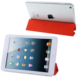 Smart Cover iPad Mini 7 pouces étui support Rouge