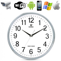 Horloge caméra espion Wifi Point to point Android iPhone iPad - www.yonis-shop.com