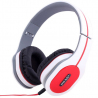 Casque arceau réglable pliable anti bruit isolation phonique blanc - www.yonis-shop.com