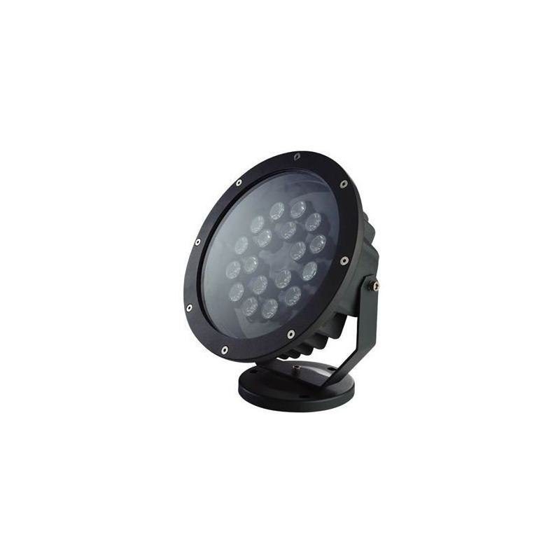 Projecteur led blanc chaud spot ext rieur clairage jardin for Eclairage a led exterieur