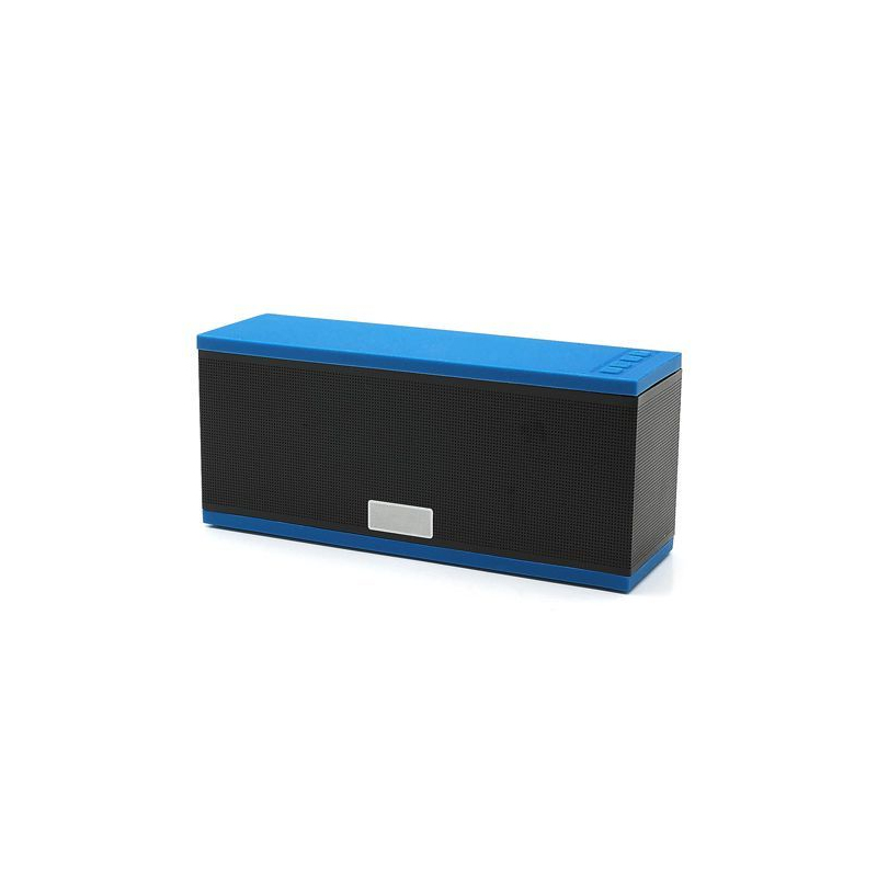 enceinte bluetooth portable stereo smartphone tablette tactile bleu. Black Bedroom Furniture Sets. Home Design Ideas
