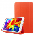 Housse Samsung Galaxy Tab 4 8 pouces SM T330 support étui fin Orange - www.yonis-shop.com