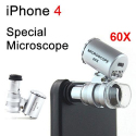 Microscope pour iPhone 4 et 4S zoom 60X smartphone - www.yonis-shop.com