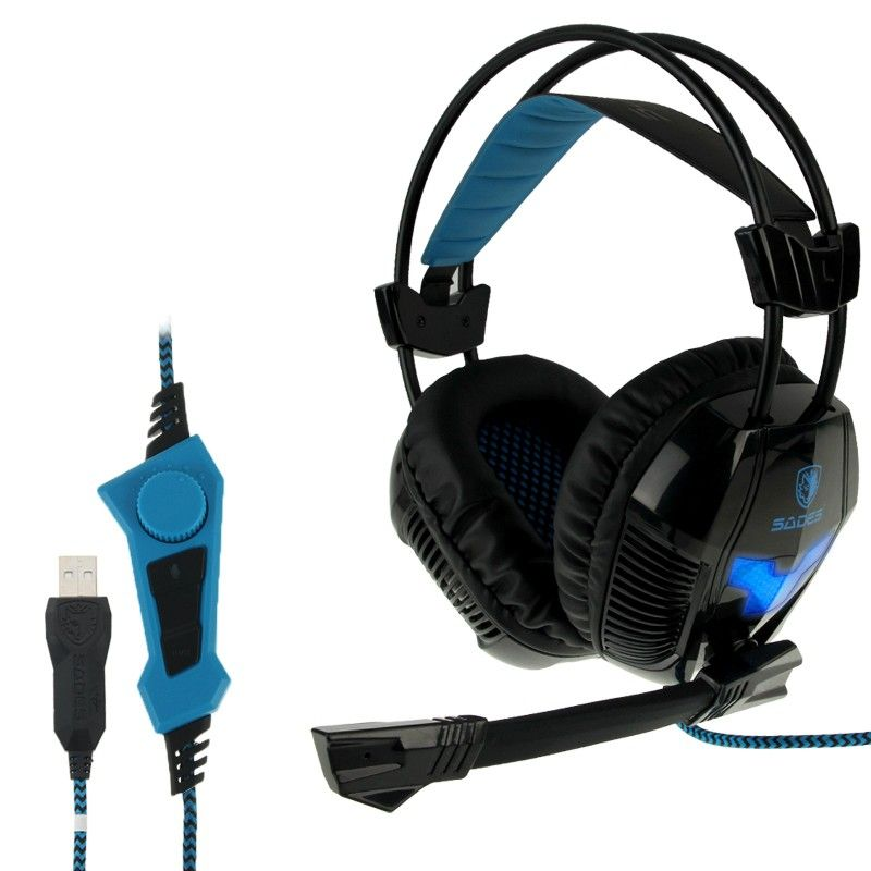 casque micro pc gaming microphone ajustable usb noir. Black Bedroom Furniture Sets. Home Design Ideas