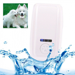 Collier traceur GPS GSM GPRS animaux chien chat anti perte bleu - www.yonis-shop.com