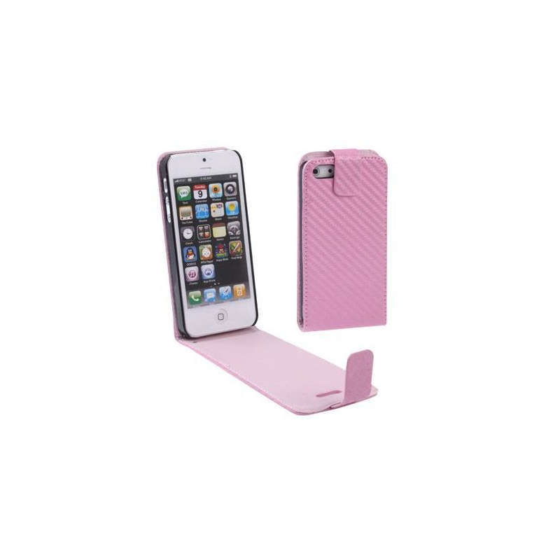 Housse iphone 5 tui de protection rose for Housse iphone 5