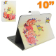 Housse universelle tablette 10 10.1 pouces support ajustable papillon - www.yonis-shop.com
