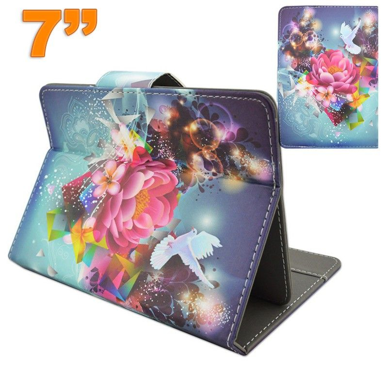 Housse universelle tablette 7 pouces support ajustable for Housse tablette 7 pouces