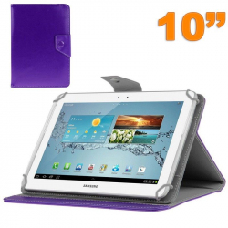 Housse universelle tablette 10 pouces ajustable 10.1'' support Violet - www.yonis-shop.com