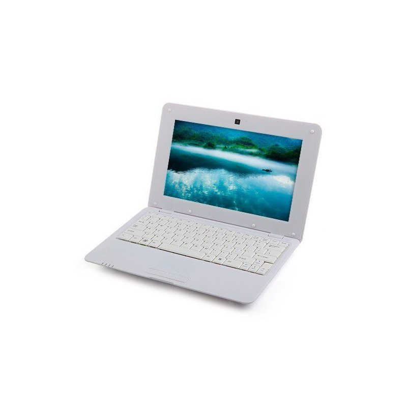 mini pc android 4 4 netbook ultra portable 10 pouces wifi 40go blanc. Black Bedroom Furniture Sets. Home Design Ideas