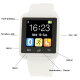 Montre Connectée Bluetooth Android ecran LCD kit main libre Blanc - www.yonis-shop.com