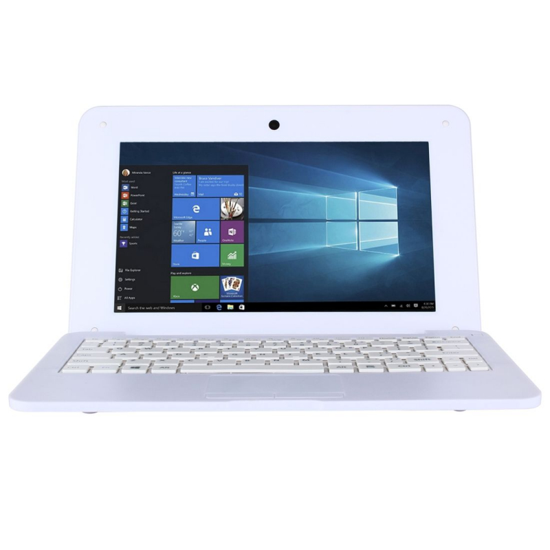 mini pc portable windows 10 pro netbook 10 notebook blanc