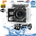 Camera sport wifi étanche caisson waterproof 12 MP Full HD Noir - www.yonis-shop.com