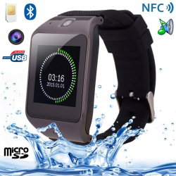 Montre connectée Smartwatch Android intelligente Caméra MP4 NFC Sport