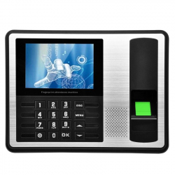 A7 4.0 inch Color TFT Screen Biometric Fingerprint Time Attendance, USB Communication Office Time Attendance Clock