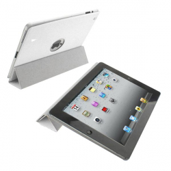 Smart cover new iPad 3 housse coque sticker blanc 9.7