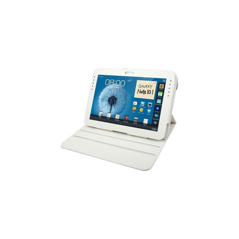 housse samsung galaxy note n8000 233 tui 10 1 pouces 360 176 duo blanc