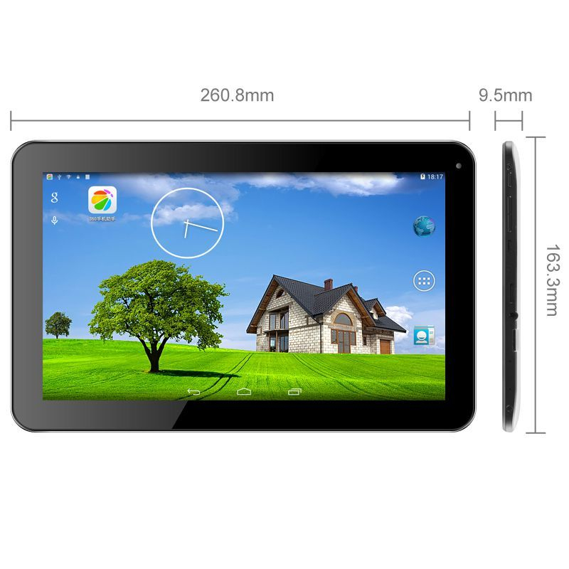 tablette 10 pouces android 4 4 quad core gps hdmi bluetooth 8 go. Black Bedroom Furniture Sets. Home Design Ideas