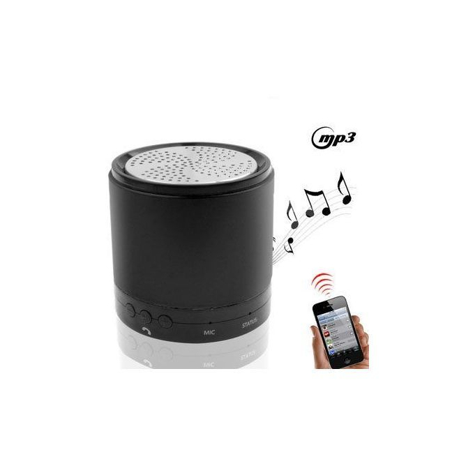 Mini enceinte Bluetooth iPhone 5 4S 4 3 iPod iPad universelle - www.yonis-shop.com