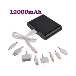 Batterie de secours externe universelle smartphone tablette 12000 mah