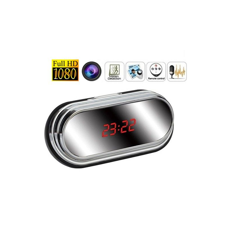 R veil camera espion miroir full hd 1080p d tecteur de - Camera detecteur de mouvement ...
