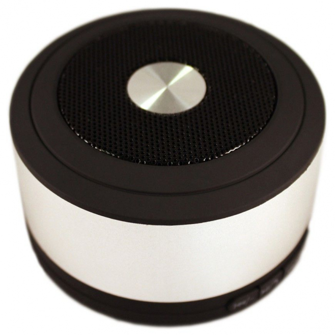 Mini enceinte bluetooth kit mains libre smartphone Micro SD Gris - www.yonis-shop.com