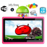 Tablette tactile Android 4.1 Jelly Bean 7 pouces capacitif 18 Go Rose - www.yonis-shop.com